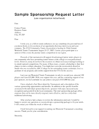 Sponsor Cover Letter Image Collections Cover Letter Ideas