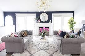 Living Room Make Over Exterior Custom Decorating Design