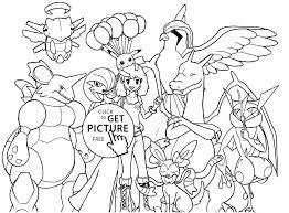 Pokemon Coloring Pages Mega Venusaur Eevee Charmander For Kids