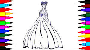 Barbie Glamour Dress Best Learning Coloring Book L Pages Videos Best Coloring Books L