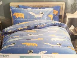 next new boys children bedding set single bedset bed set duvet pillowcase wild animal