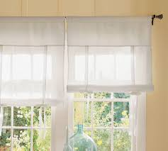 Pottery Barn Kitchen Curtains Cozycottagecute Pottery Barn Knock Off Tie Up Shade
