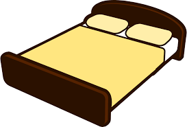 bed clipart. Simple Bed Tan Bed To Bed Clipart E