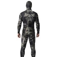 Mens Neoprene 3mm Full Body Warm Scuba Diving Suit Two Piece Snorkeling Wetsuit