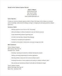 Software Developer Resume Sample Best Of Sample Resume Format For