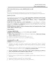 System Administrator Resume Example Letter Resume Directory