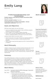Toddler Teacher Resume Interesting Preschool Teacher Resume Samples VisualCV Resume Samples Database