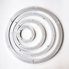 lazy susan bearing mechanism. lazy susan rotating aluminium turntables bearing mechanism - small to large 18