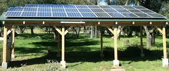 get solar installed on top of a patio cover or sunroom