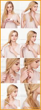 Hairstyles For School Step By Step 20 Beautiful Hairstyles For Long Hair Step By Step Pictures
