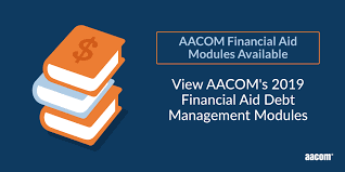 Aacomas Letter Of Recommendation 2019 Aacom Financial Aid Debt Management Modules