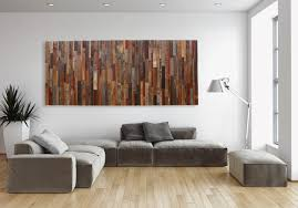 art then large wall on wood wall upscale