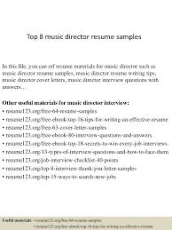 Music Resume Sample Resume Peppapp