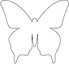 Printable Butterfly Outline Coloring Pages Of Butterflies To Print Seatdreams Co