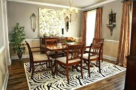 area rug under dining table dining room rug consider the size of the rug rug under