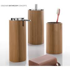 Decorative Accessories For Bathrooms Amazing Bamboo Bathroom Accessories More Ideas For Your Home
