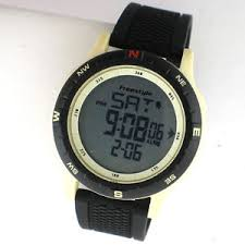 shark style black sport digital rubber white alarm mens watch image is loading shark style black sport digital rubber white alarm
