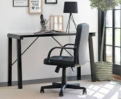 home office black desk. Modern Black Metal Office Desk Home