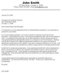 Sample Cover Letter For College Student Seeking Internship Entry