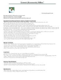 Fashion Resume Examples New Video Production Resume Sample Awesome Music Producer Resume Format