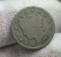 1912 Us 5c Liberty Head Nickel Pcgs Ms64 Ebay