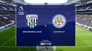 เวสต์บรอมวิช อัลเบี้ยน vs เลสเตอร์ ซิตี้   พรีเมียร์ลีก Premier league  2020-21