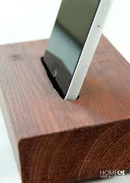 diy wood phone charging sta