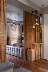 Rustic Living Room Apartment Stone Wall Designliving Design Large ...