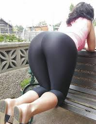 Sexy Girls In Yoga Pants Bent Over Ass