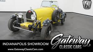 So while restoring a client's car, they created an exact rep. 1976 Volkswagen Bugatti Kit Car Gateway Classic Cars Indianapolis 1406 Youtube