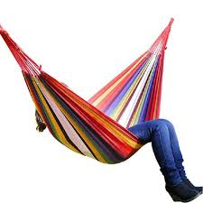 Swing Hanging Chair Outdoor 380G M2 Canvas Garden <b>Hammock</b> ...