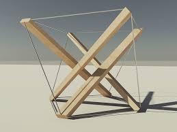 tensegrity furniture. tensegrity by kokelieb furniture