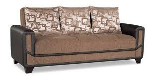 mondo modern brown convertible sofa bed