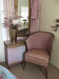 Pink Bedroom Chair Antique Bedroom Chair And Ottoman Pink In Armagh County
