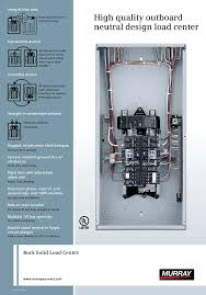 murray lcbp space circuit amp main breaker murray lc4040b1200p 40 space 40 circuit 200 amp main breaker indoor load center value pack com