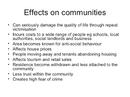 anti social behaviour  7