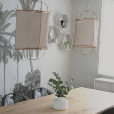 How Tobamboo Pendant Light With Linnen Fabric Instructions In