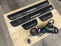 Оригинальные <b>Led</b> порожки + подсветка в <b>подстаканники</b> Honda ...