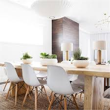 Contemporary white dining chairs Dining Table White Armless Plastic Molded Side Dining Chairs Modern With Natural Wood Legs 846183160359 Ebay Ebay White Armless Plastic Molded Side Dining Chairs Modern With