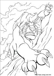 To print the coloring page Simbad The Lion In Danger Coloring Page Free Printable Coloring Pages For Kids