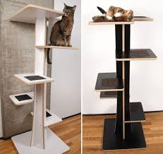 designer cat trees furniture.  Trees Baobab Modern Cat Tree From Square Habitat In Designer Trees Furniture G