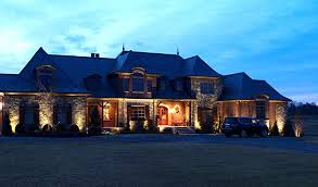 lighting a house. Residential Outdoor Lighting A House