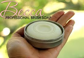 becca professional brush soap