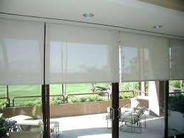 door blinds roller. Exterior Patio Roller Shades Sliding Door Outdoor Roll Up Window And Blinds 1024x768i M