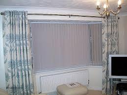 eyelet curtains on bay window luxury hereford