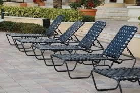 st maarten crossweave vinyl strap chaise lounge mercial aluminum frame 25 lbs