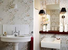 Bathroom Wallpaper Ideas With Designer Wallpaper For Bathrooms with regard  to The Elegant wallpaper designs for