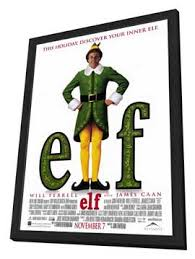 elf movie poster. Beautiful Movie Elf  11 X 17 Movie Poster Style A In Deluxe Wood Frame In