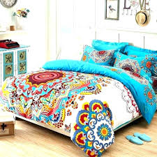 multi colored bedding sets colorful comforter best spring with regard to queen ideas 6 coloured color