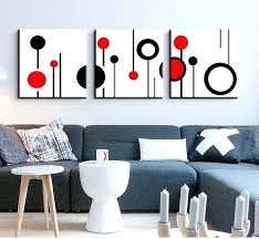 canvas 3 piece wall art 3 piece canvas wall art wall picture modern wall abstract oil canvas painting black white and 3 piece canvas wall art target